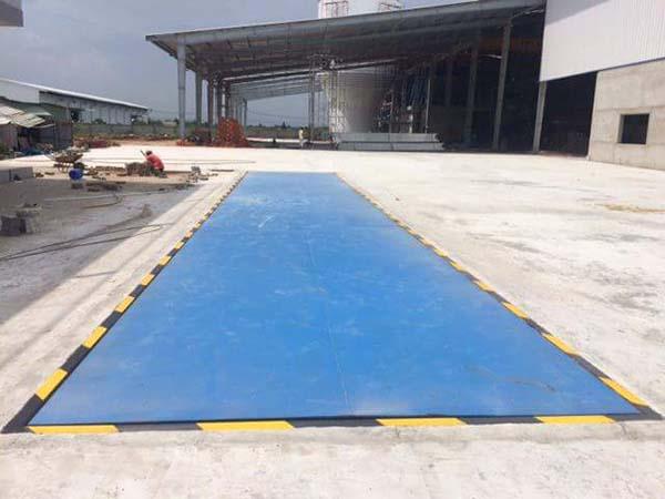 Trạm cân ô tô Curitoec 80 tấn chính hãng cao cấp