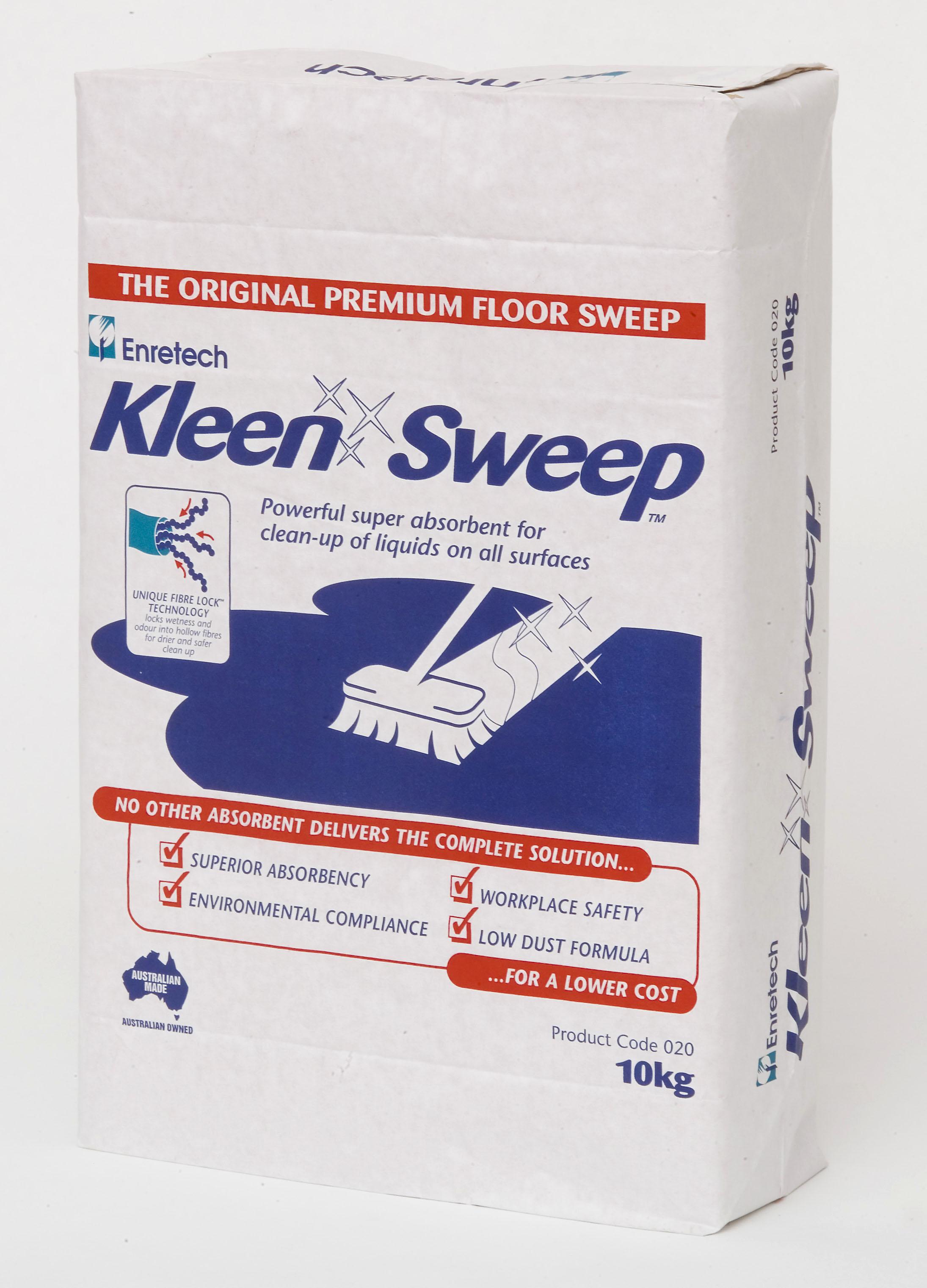 CHẤT THẤM DẦU TRÊN NỀN SÀN (Kleen Sweep)