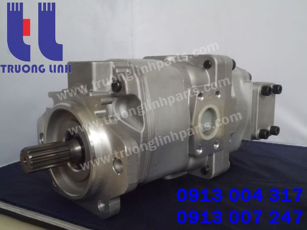 Bơm thủy lực xe ủi Komatsu D275-5 chất lượng