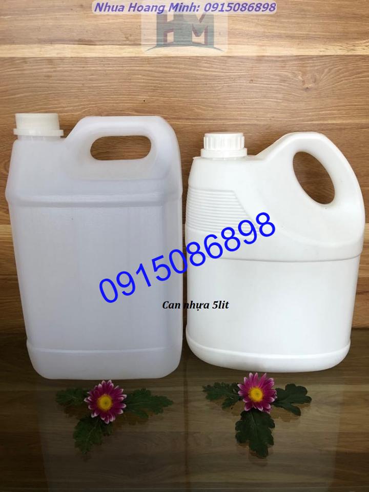 Cung cấp CAN NHỰA đựng nước giặt xả, nước lau sàn - Nhựa Hoàng Minh