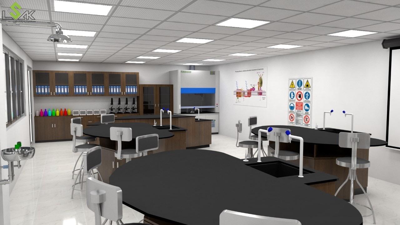 Thiết kế phòng thí nghiệm trường học