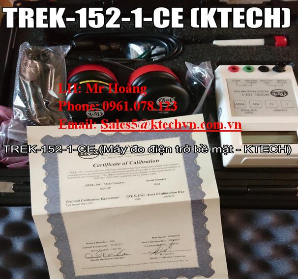 Ktech Máy đo điện trở bề mặt Trek 152