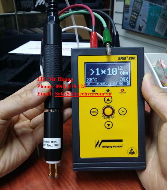 Máy đo điện trở bề mặt SRM200