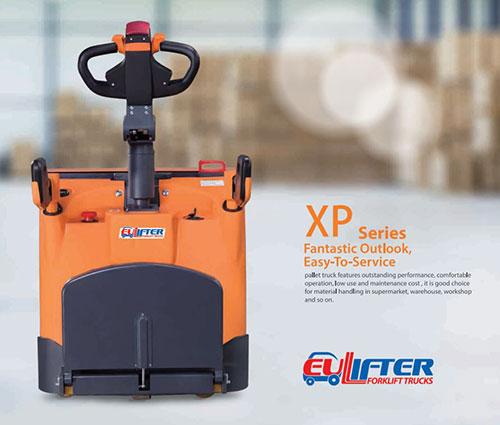 Xe nâng tay chạy điện 2 tấn hiệu Eulifter