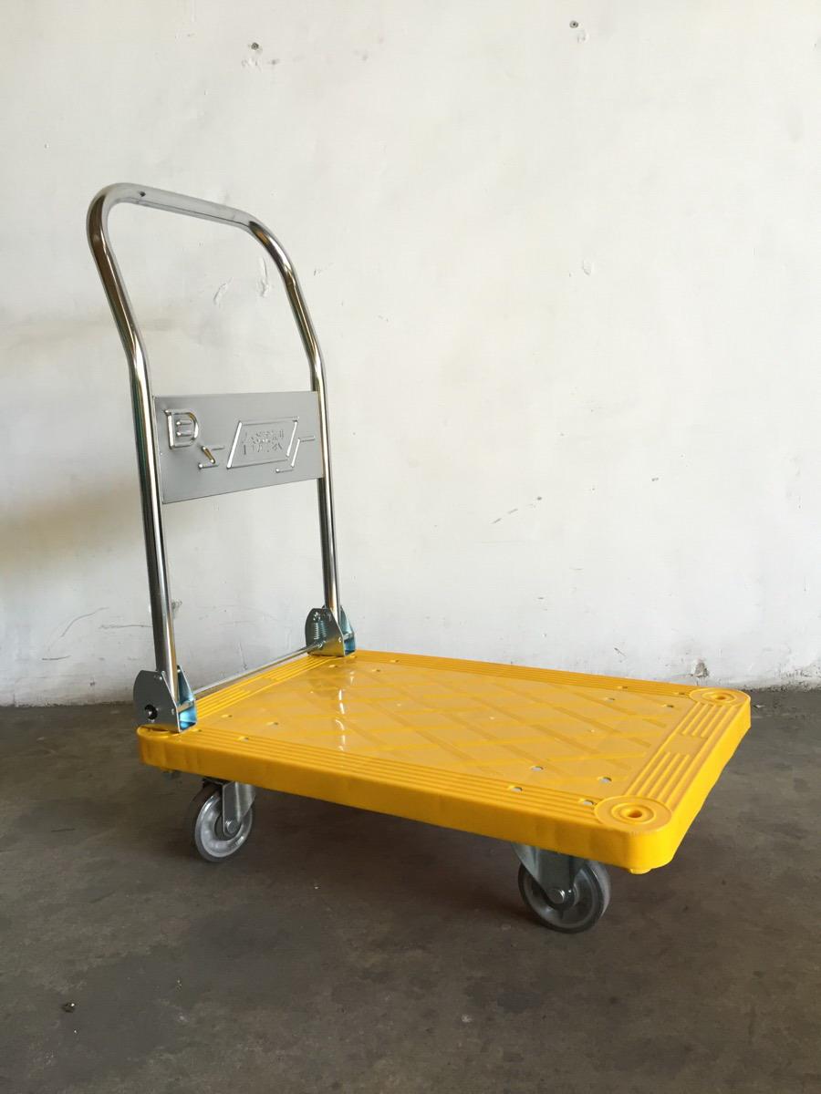 Xe đẩy tay, xe đẩy sàn nhựa, xe đẩy bàn, hand truck - Tải trọng 500Kg