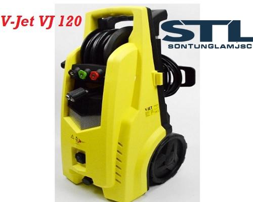 Bán máy rửa xe gia đình mini V-Jet VJ 120