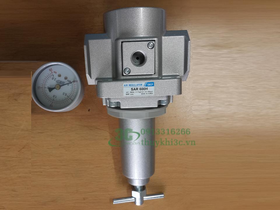 Bộ điều chỉnh áp suất khí nén SKP - áp cao SAR series
