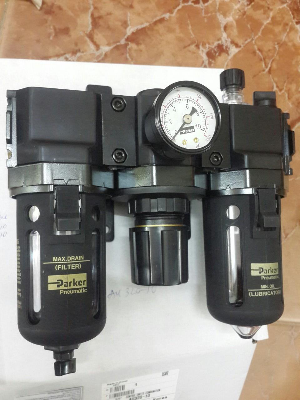 Bộ lọc ba khí nén Parker AU320-10