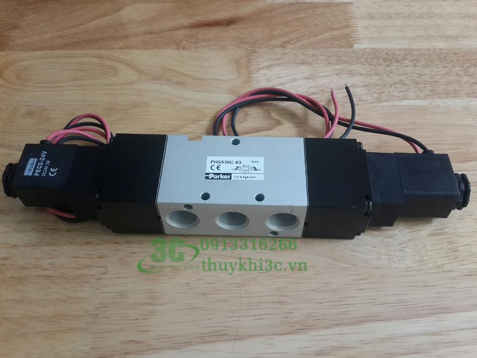 Van điện từ khí nén Parker PHS510C-6, PHS520C-02, PHS530C-03