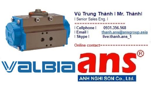 Bộ truyền động DA 63 Valbia Vietnam