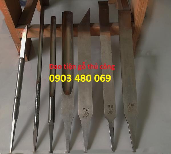 Dao tiện gỗ bằng tay - dao tiện gỗ thủ công