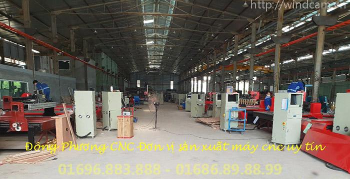 Giá máy CNC và đơn vị cung cấp uy tín