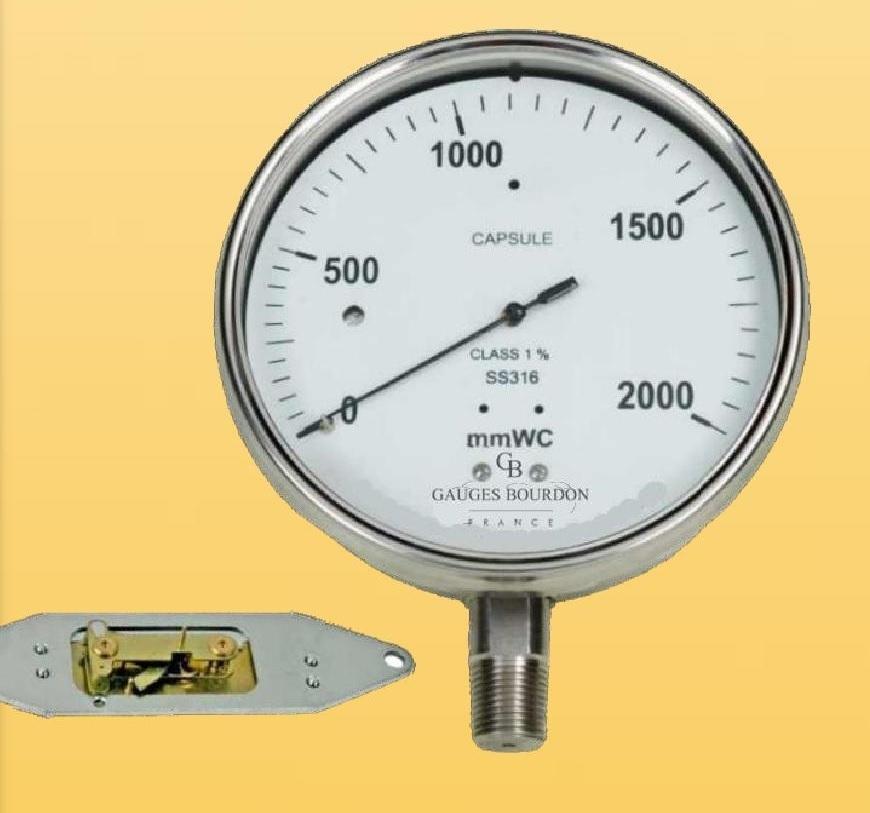 Đồng hồ áp suất nước