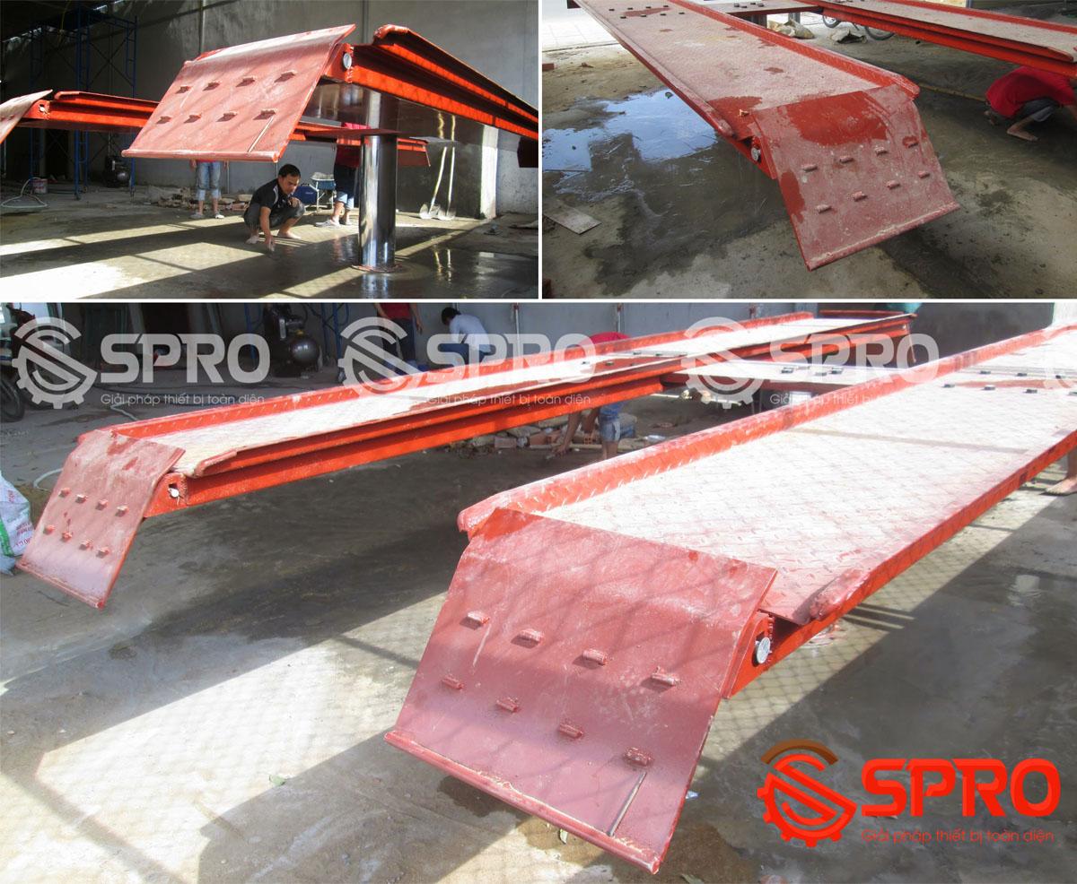 Cầu nâng 1 trụ chuyên dùng để rửa xe ô tô DC4000