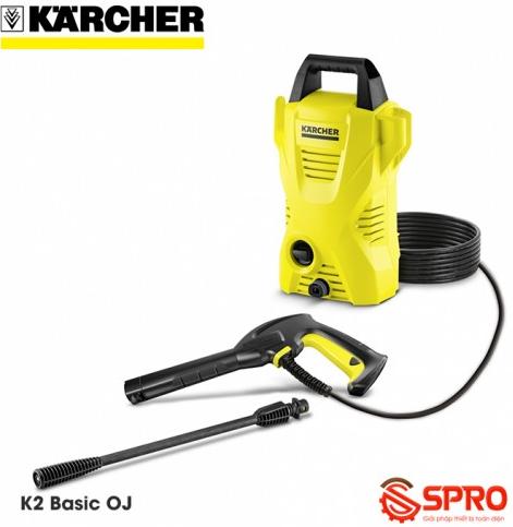 Máy rửa xe gia đình Karcher KARCHER K2 Basic Oj xuất xứ Đức