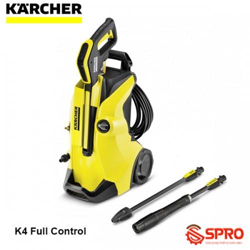 Máy rửa xe gia đình mini Karcher K4 Full Control