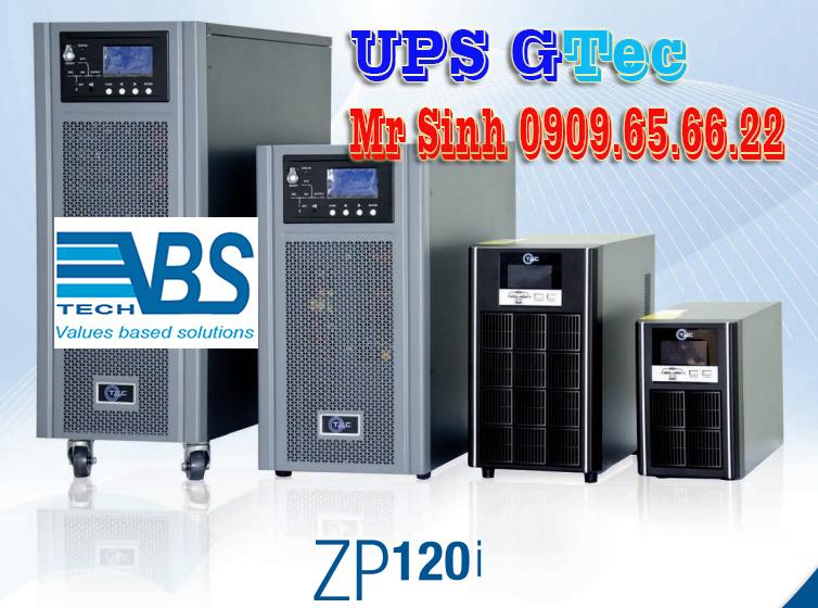UPS 2KVA sản phẩm của GTEC Italia chính hãng
