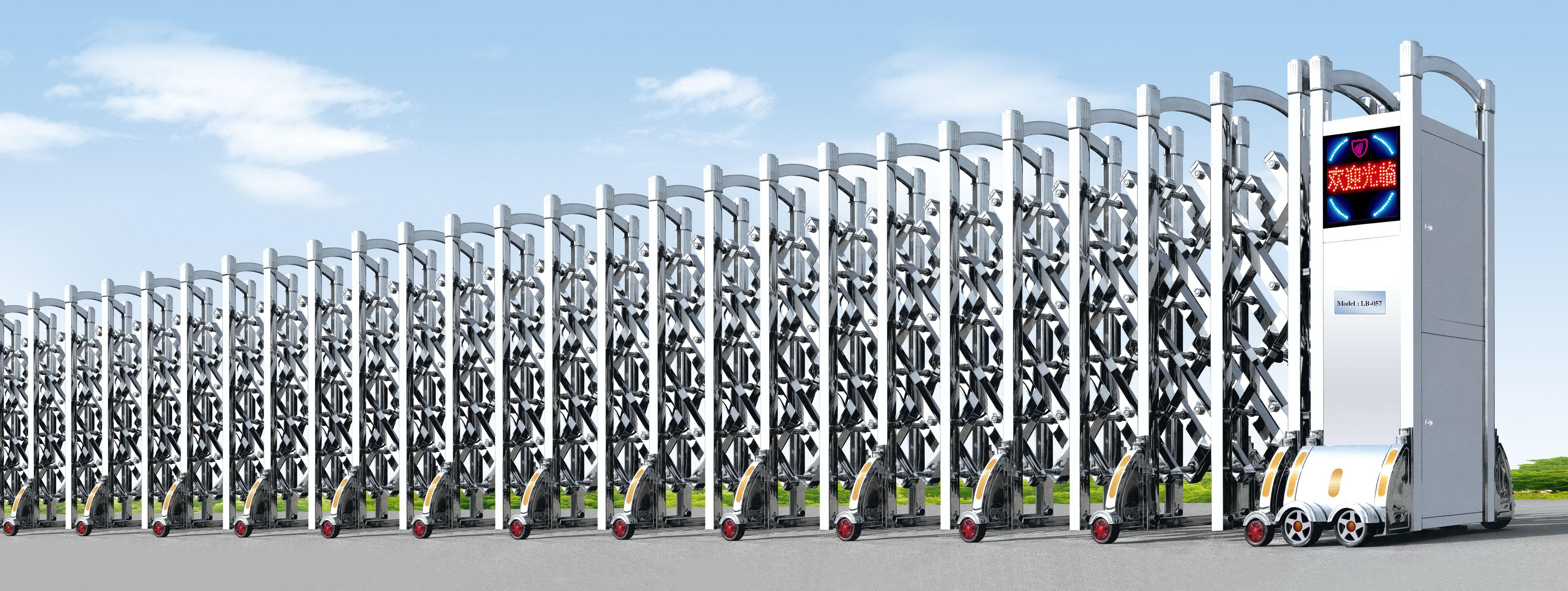 Cổng xếp inox, cổng xếp nhôm- Chất lượng là tất cả - 0913183440.Ms.Lan