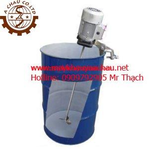 Máy khuấy hóa chất sử dụng điện kẹp miệng thùng phuy 200 lít AC-D-09