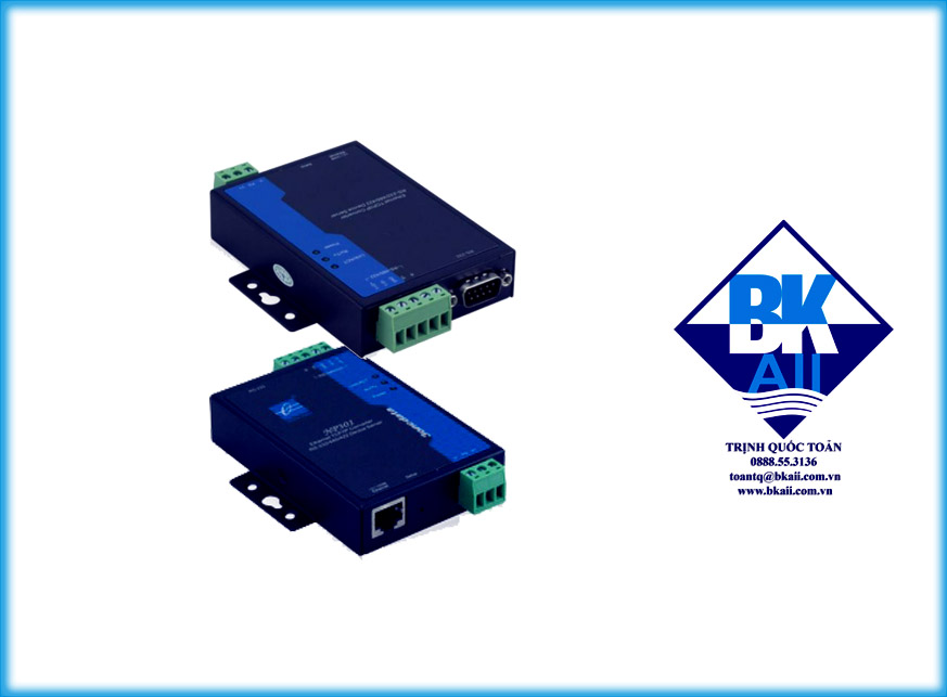 Bộ chuyển đổi 1 cổng RS232485422 sang Ethernet model : NP301