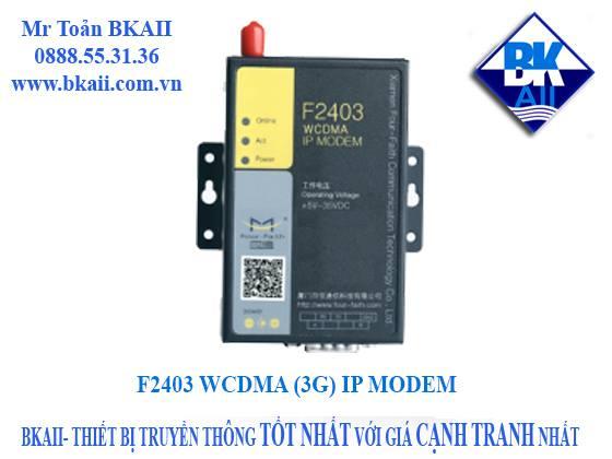 F2403 3G IP MODEM | BKAII