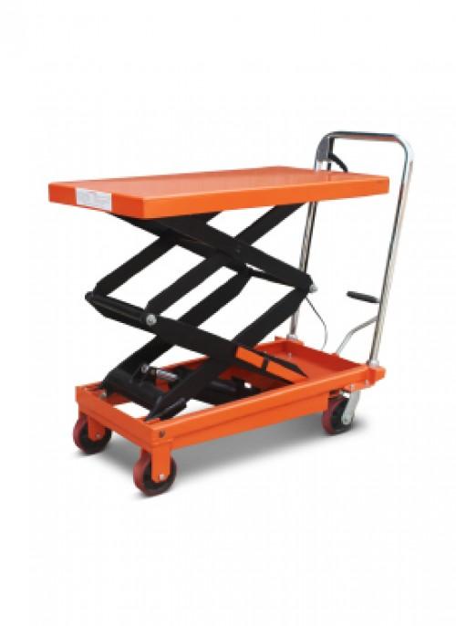 Xe nâng mặt bàn 350kg nâng cao 1m3 giá re