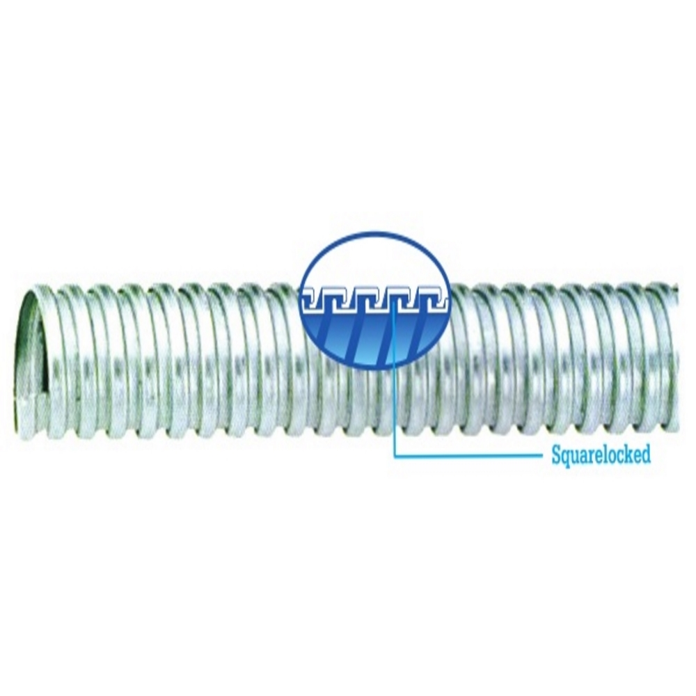 """Ống ruột gà lõi thép phi từ 1/2'' đến 1"""" , cuộn dài 50 m, Blue Eagle, ống luồn dây điện"""