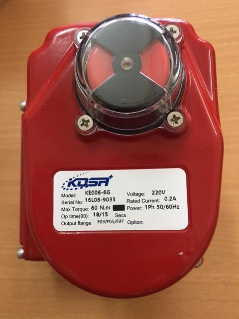 Bộ tác động điện (Electric Actuator) hiệu Kosaplus Hàn Quốc