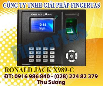 Cung cấp thiết bị máy chám công vân tay thẻ cảm ứng X989-C giá ưu đãi hấp dẫn