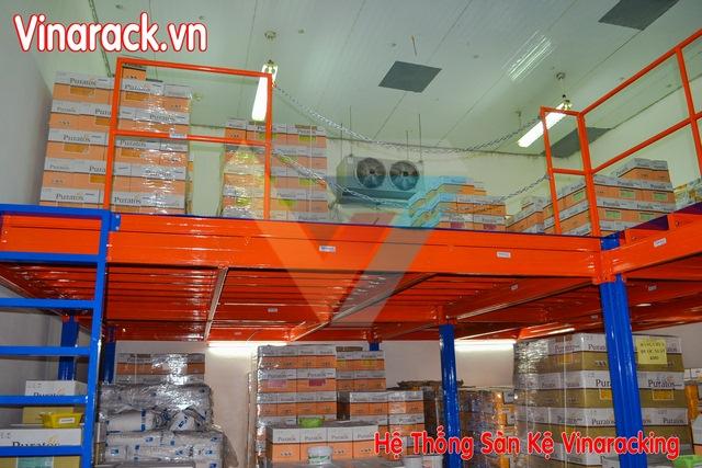 Sàn chứa hàng một tầng Vinaracking