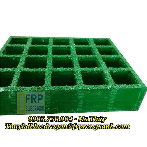 Sàn lót nhựa grating composite chống cháy, kháng hóa chất