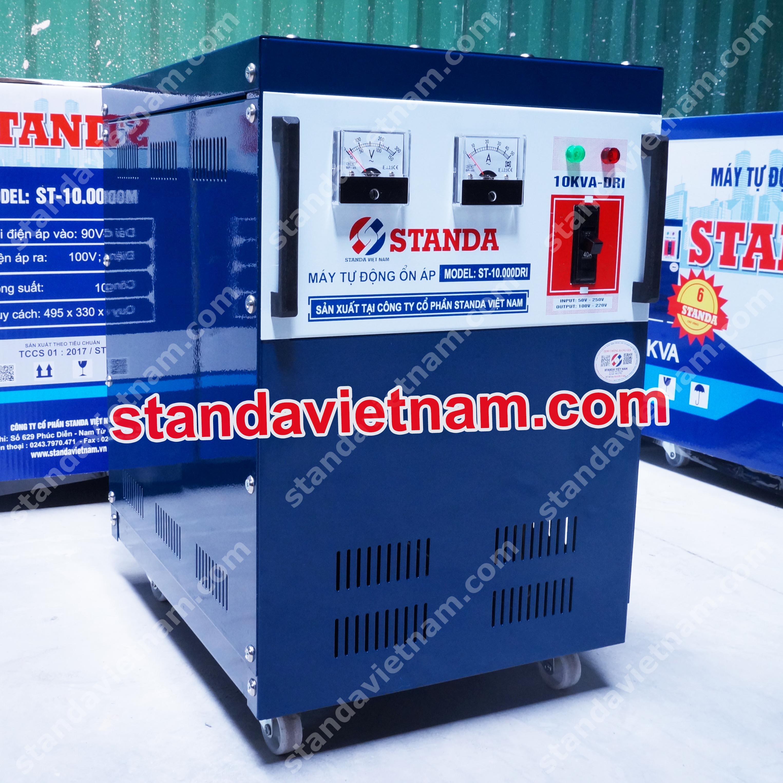 Ổn áp Standa 10KVA-DRI dải điện áp 50-250V