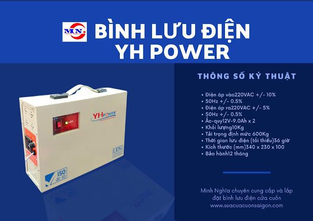 Bộ Lưu Điện Cửa Cuốn Đài Loan
