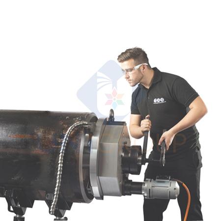 Máy vát mép ống thép TAG Prep 24 OD ống 180-600mm