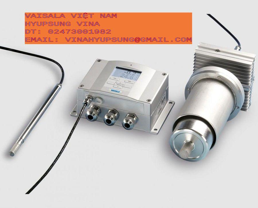 Thiết bị cảm biến Vaisala: đo nhiệt độ độ ẩm, áp suất, điểm sương, độ ẩm trong dầu, cảm biến thời tiết