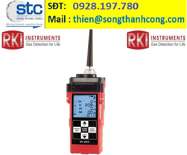 GX-2012 - RKI Instruments - Máy dò khí -Song Thành Công Việt Nam