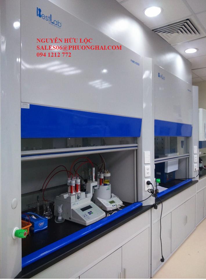 Tủ hút hóa chất dùng trong phòng lab