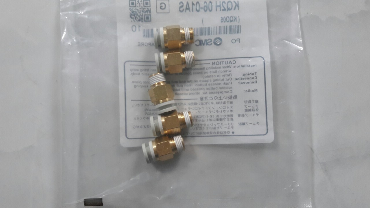 Đầu nối SMC KQ2H 06-01AS