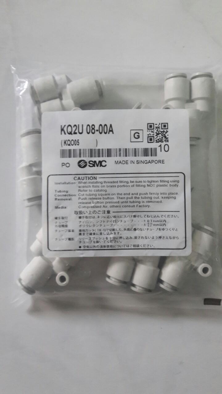 Đầu nối SMC KQ2U 08-00A