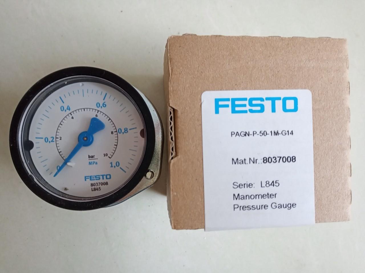 Đồng hồ FESTO PAGN-P-50-1M-G14