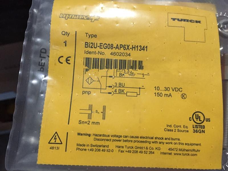 TURCK BI2U-EG08-AP6X-H1341