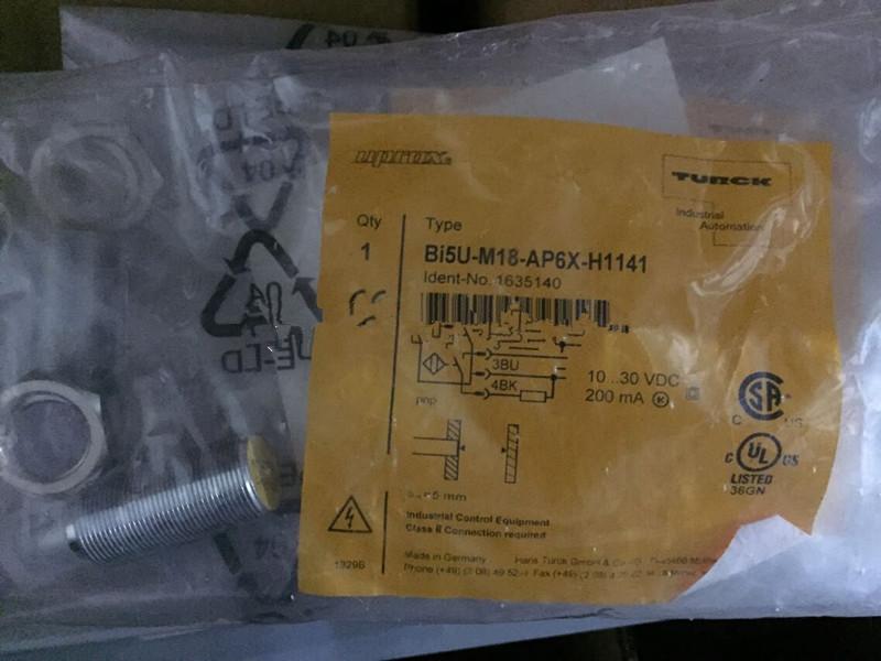 TURCK BI5U-M18-AP6X-H1141