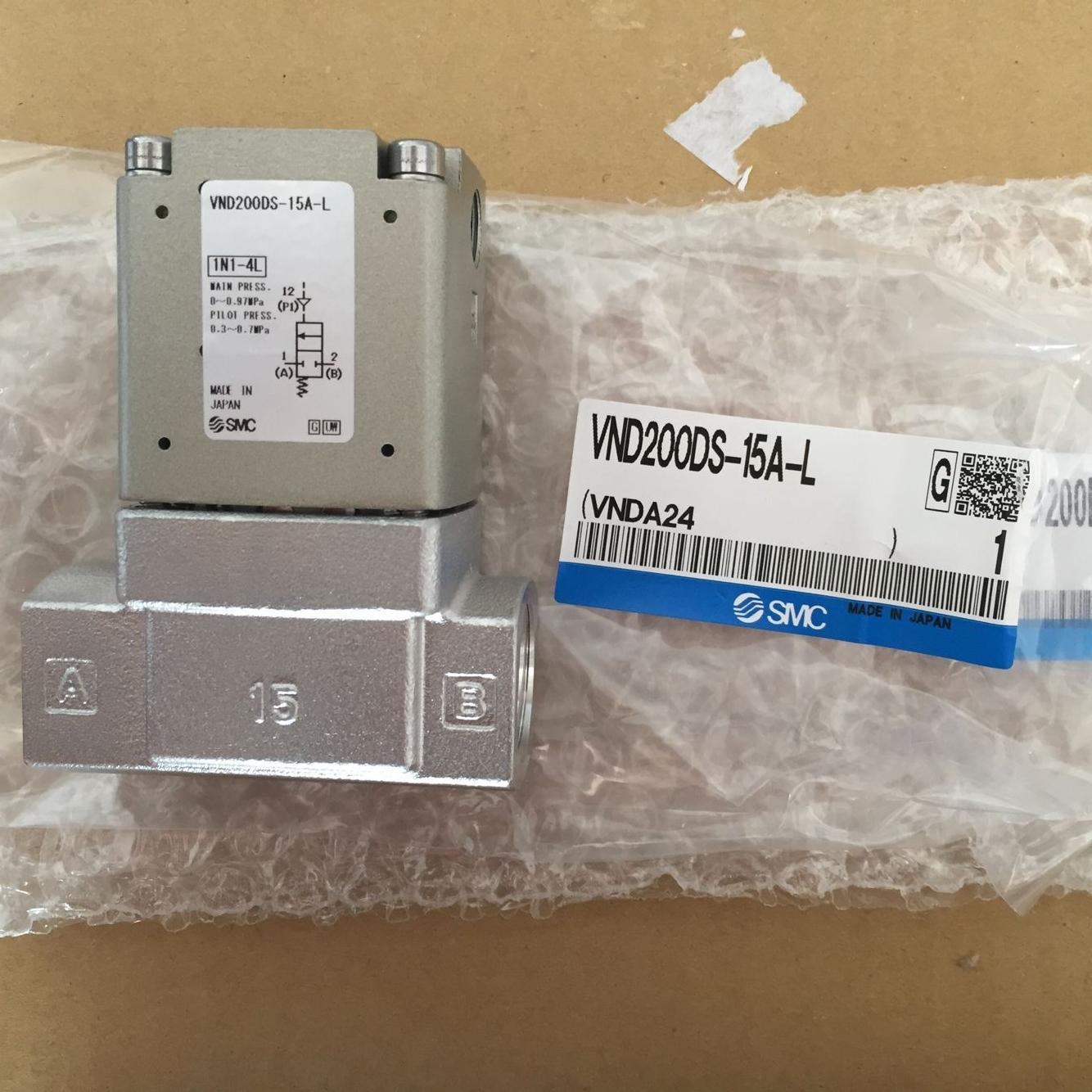 Van điện từ SMC VND200DS-15A-L