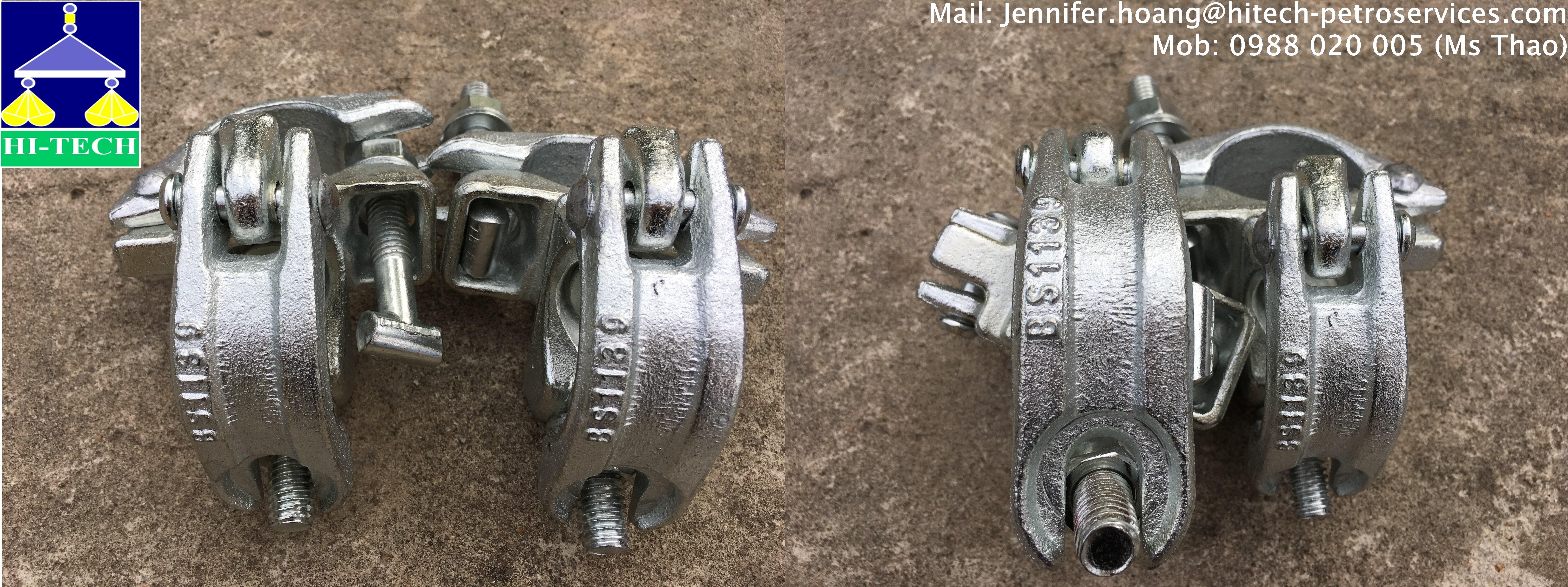 Cùm cố định (Double Coupler) BS1139