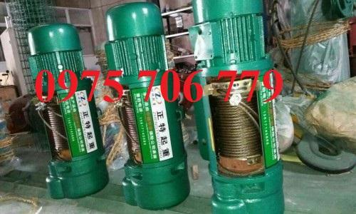 Pa lăng cáp điện CD1 Trung Quốc 1 tấn 2 tấn 6m