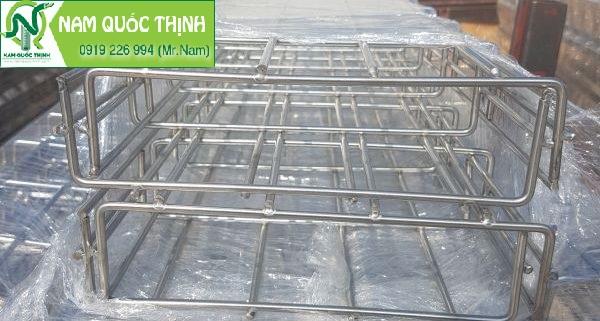 Hệ thống kích thước máng lưới inox tại Nam Quốc Thịnh