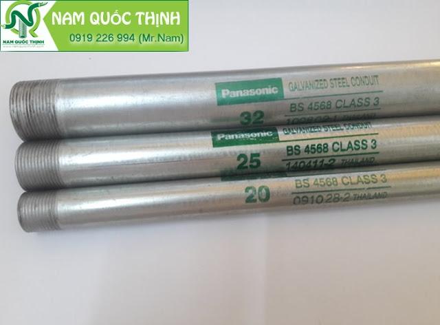 Ống thép luồn dây điện ren BS4568 cấp bởi Nam Quốc Thịnh