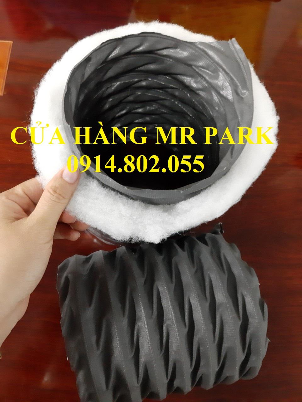 Ống gió mềm Vải Fiber có khả năng chống cháy - ống gió Mr Park giá rẻ nhất