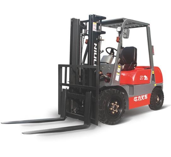 Xe nâng dầu 2 tấn 3 mét đã qua sử dụng