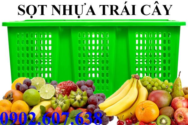 Sọt nhựa đựng trái cây